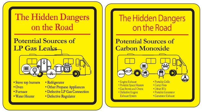 Carbon and LP Dangers